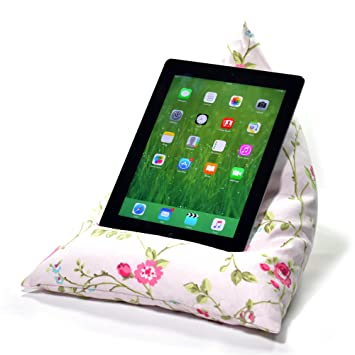 Amazon.com: ebean Tablet Cushion – Puf Stand Lap Holder ...