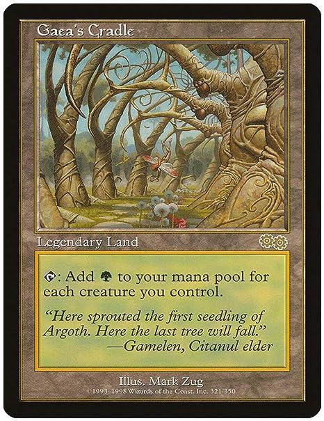 Magic: The Gathering - gaea S Cradle - Cuna de Gea - urza ...