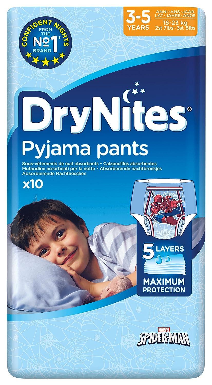 HUGGIES DRYNITES BOY 3-5 YEARS 10 21450