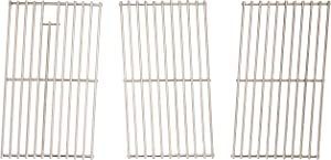 Music City Metals 5S783 Stainless Steel Wire Cooking Grid Replacement for Select Sams Gas Grill Models, Set of 3