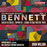 Bennett: Orchestral Works [Howard McGill; BBC Scottish Symphony Orchestra; John Wilson] [Chandos: CHSA 5212]