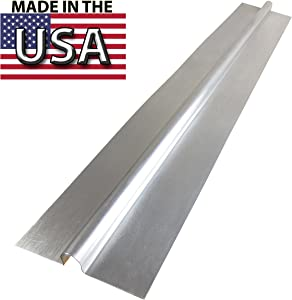 """4 Ft - 1/2"""" Omega Type PEX Aluminum Heat Transfer Plates, (100/box) for Radiant Heating (HPS-4) by PEX GUY - Made in USA"""