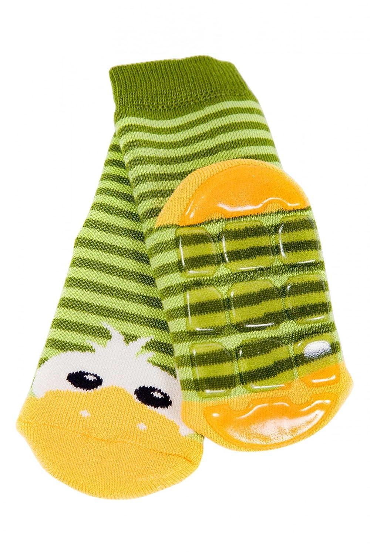Weri Spezials ABS Pantoufle Chaussons Chaussettes Antiderapants 0-3 Mois (13-14) Vert