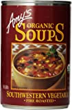 Amy's Organic Soups, Fire Roasted Southwestern Vegetable, 14.3 oz