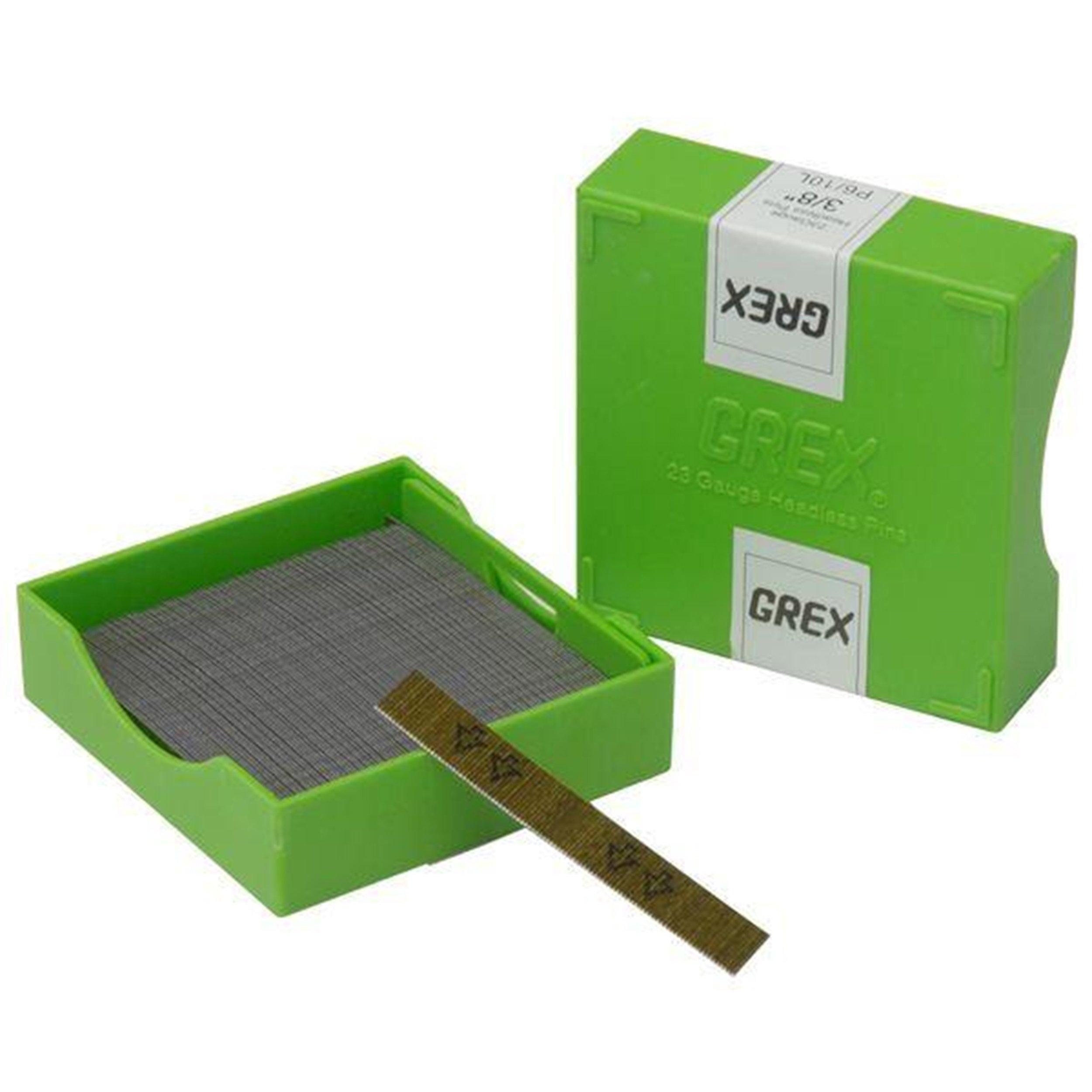 Grex 23 gauge 1 3/16 inch Headless Pins 10K Box