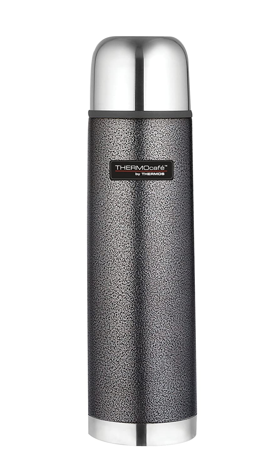Thermos Thermocafe 1.0 Litre Stainless Steel Hammertone Flask