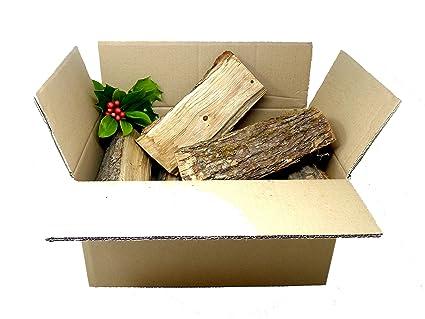 Paquete de iniciación para leña y leña de roble seco en eslabones ingleses, leña,