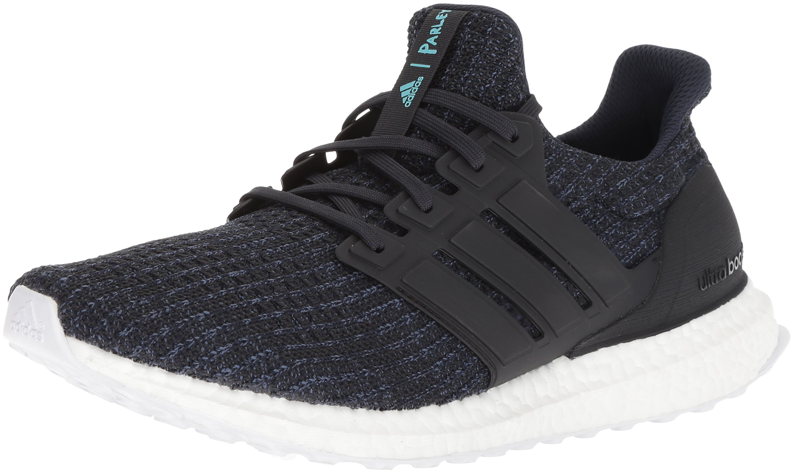 adidas Men's UltraBOOST Parley Running Shoe, legend ink/carbon/blue spirit, 4 M US