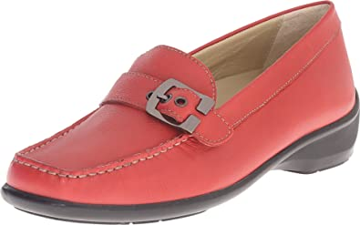 a3a51e140ae Naot Footwear Women s Maria Red Leather Loafer 36 (US Women s ...