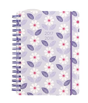 Letts - Agenda escolar (2017 - 2018 Daisy Cadena A6, color ...