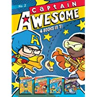 Captain Awesome: Captain Awesome to the Rescue / Captain Awesome Vs. Nacho Cheese Man / Captain Awesome and the New Kid / Captain Awesome Vs. the Spooky, Scary House