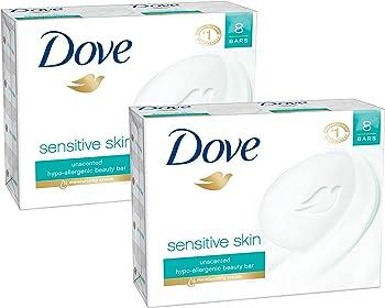 16-Pack Dove Beauty Bar, Sensitive Skin