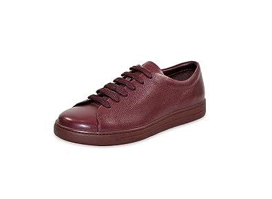 Prada Men's 'Toro' Pebbled Leather Sneaker, Oxblood (Granato) 4E2996 (US