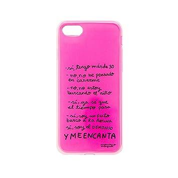 Tan Tan Fan TFCAR011, Carcasa para Apple iPhone 7, Multicolor (Rosa)