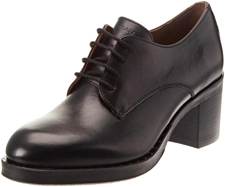Frau Scarpe Donna, Zapatillas Altas para Mujer 37 EU Negro (Nero Nero)