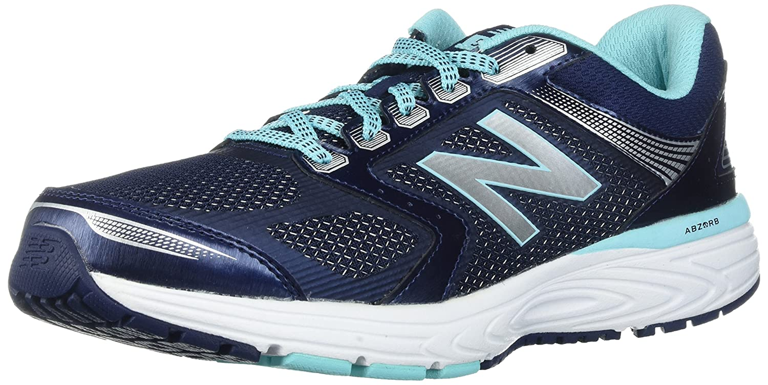 New Balance Women's W560v7 Cushioning Running Shoe B01N2XMBLH 11 D US|Navy