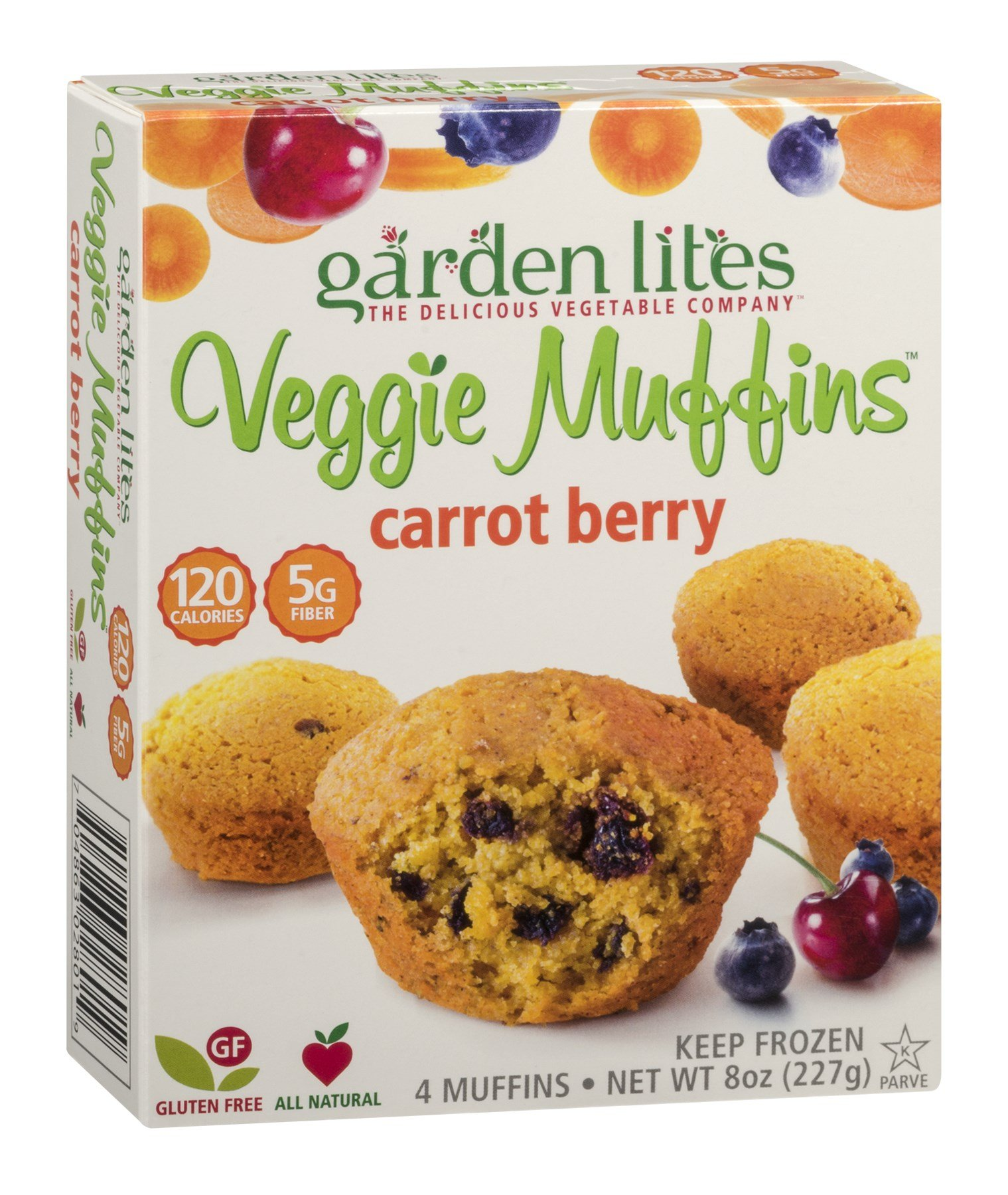Garden Lites Zucchini Chocolate Veggie Muffin 8 Ounce Pack Of 8 Grocery
