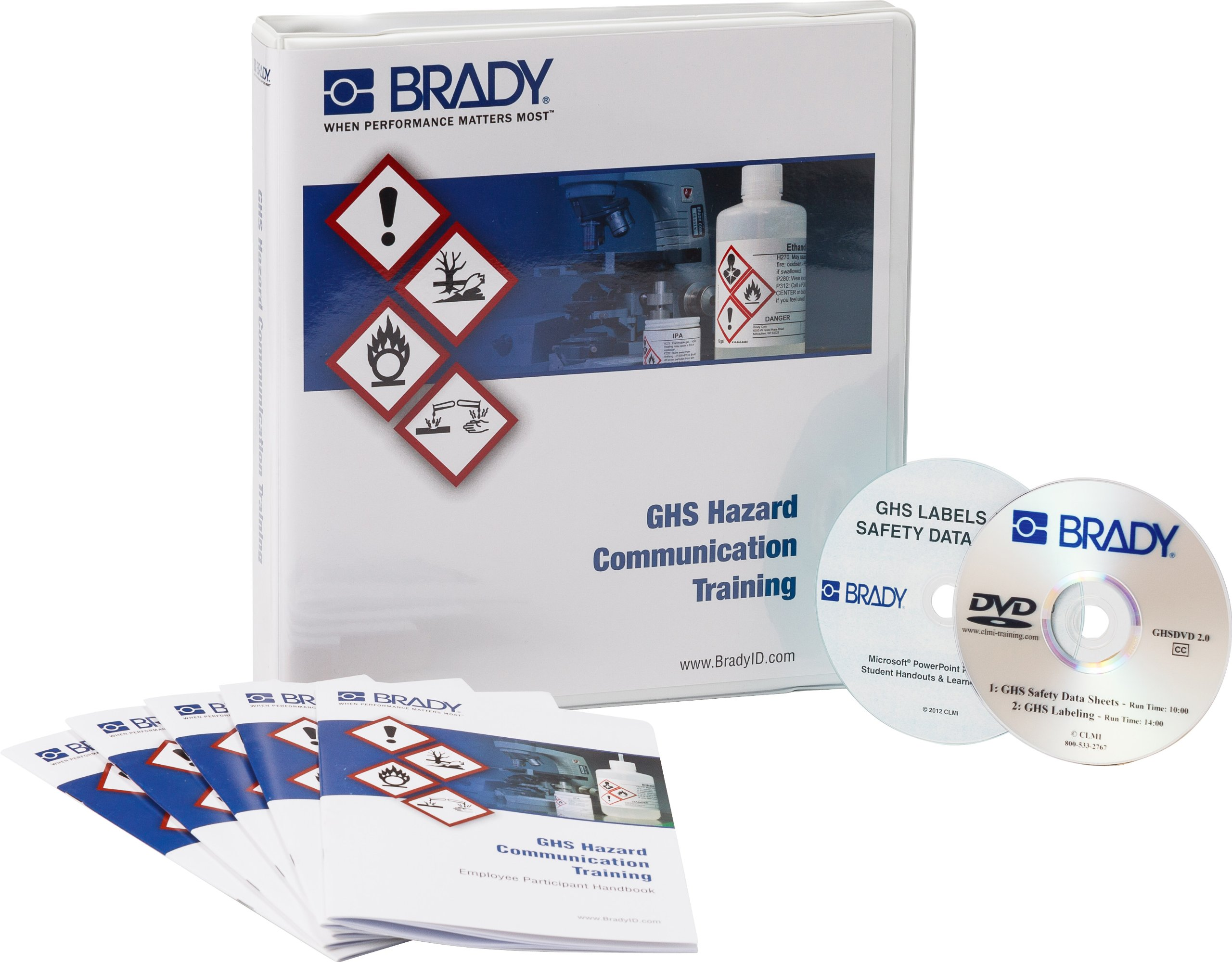 Brady 132428 GHS HazCom Training Program Kit