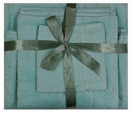 3 piezas de toallas Bale Set 1 toalla de baño, 1 toalla de mano y