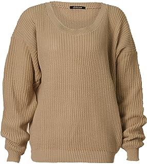 Forever Rebecca Lujan Women s Elegant Long Sleeves Baggy Style Sweater 657423ca0