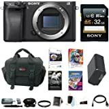 Sony a6300 Mirrorless Digital Camera Body Bundle (32GB Software Bundle)