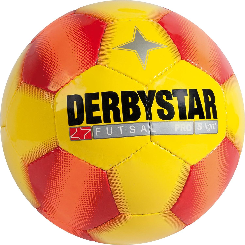 Derbystar fútbol Sala Pro S Light, Amarillo/Rojo, 3, 1087300537