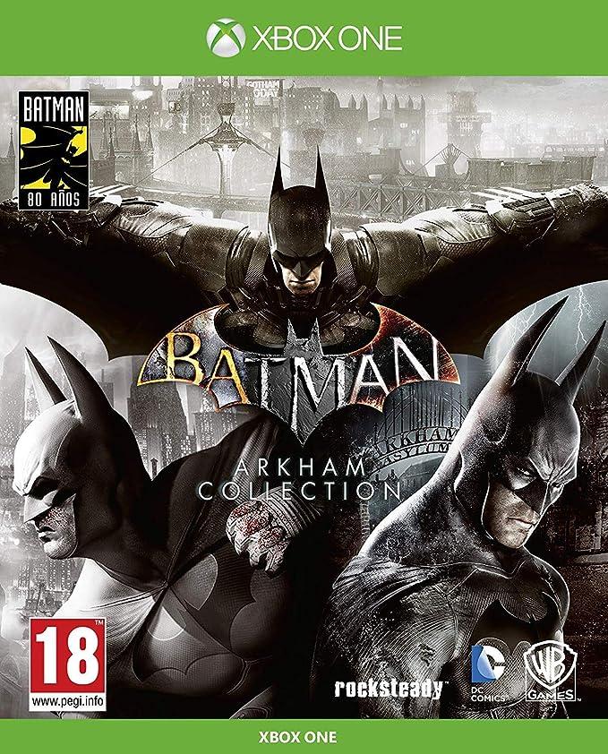 Batman: Arkham Collection - Edición Exclusiva Amazon (Incluye steelbook y skin de caballero oscuro): Amazon.es: Videojuegos