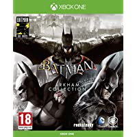Batman: Arkham Collection - Edición Exclusiva Amazon (Incluye steelbook y skin de caballero oscuro)