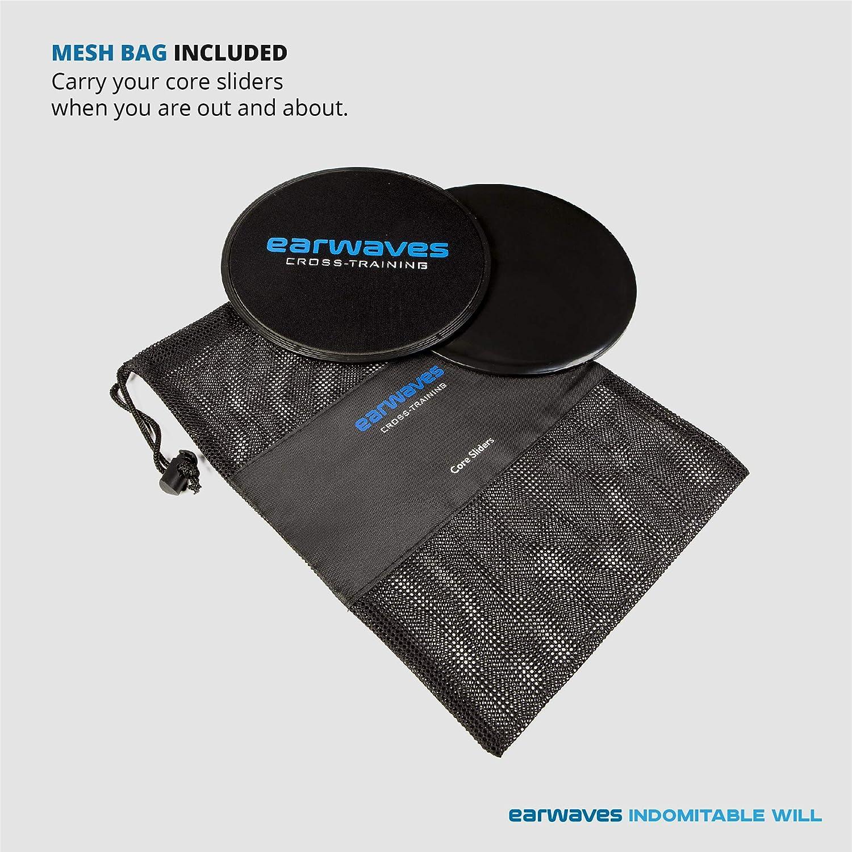 Earwaves /® HIIT Pack Discos deslizantes. AB Mat Crossfit Comba Crossfit
