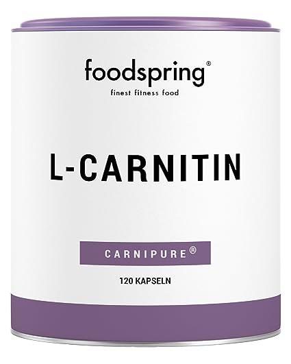 foodspring - L-carnitina - El suplemento de apoyo para la pérdida de peso -