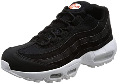 hot sale online 03377 f46d9 Nike Air Max 95 Premium Se, Chaussures de Gymnastique Homme, Noir  Black White