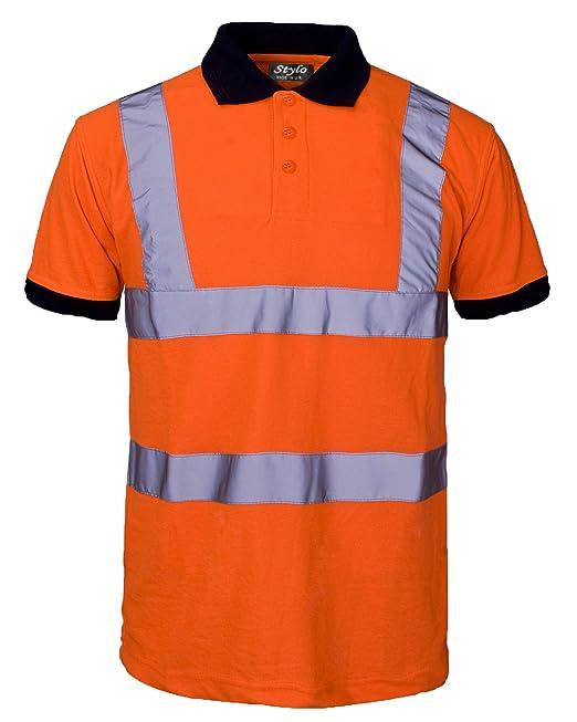 Generation Fashion - Polo - All inglese - Uomo arancione Orange ... a4a55c926bf