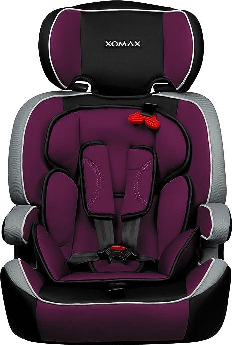 XOMAX XM-K1 + silla de coche para niños + Grupo I / II / III (9-36