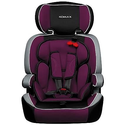 XOMAX XM-K1 + silla de coche para niños + Grupo I / II / III (9-36 ...