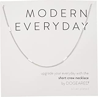 product image for Dogeared Women's Modern Everyday, Short Crew Neck Necklace