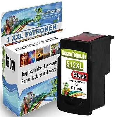 Premium Cartouche d'imprimante compatible comme un substitut Canon PG-512 XL noir Black BK Pour PIXMA MP287 IP2700 MP495 MX420 MP250 MP230 MP240 MP499 MX320 MX330 MP480 MP270 MP280 MX340 MX350 MX410 MX360 MP490 MP260 1x512-Ca