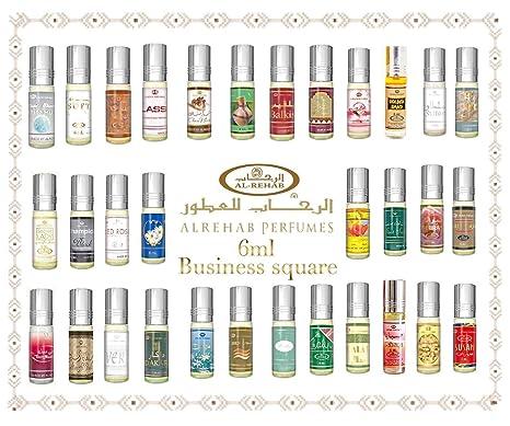 Alcool Musk Sans Oud Roll 6ml Véritable Attar Business Parfum Square Ajq54Lc3R