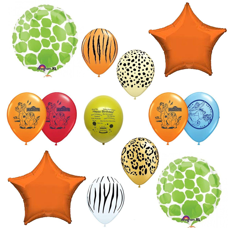 Amazon.com: Lion Guard Birthday Party Balloon Decoration Kit: Toys ...