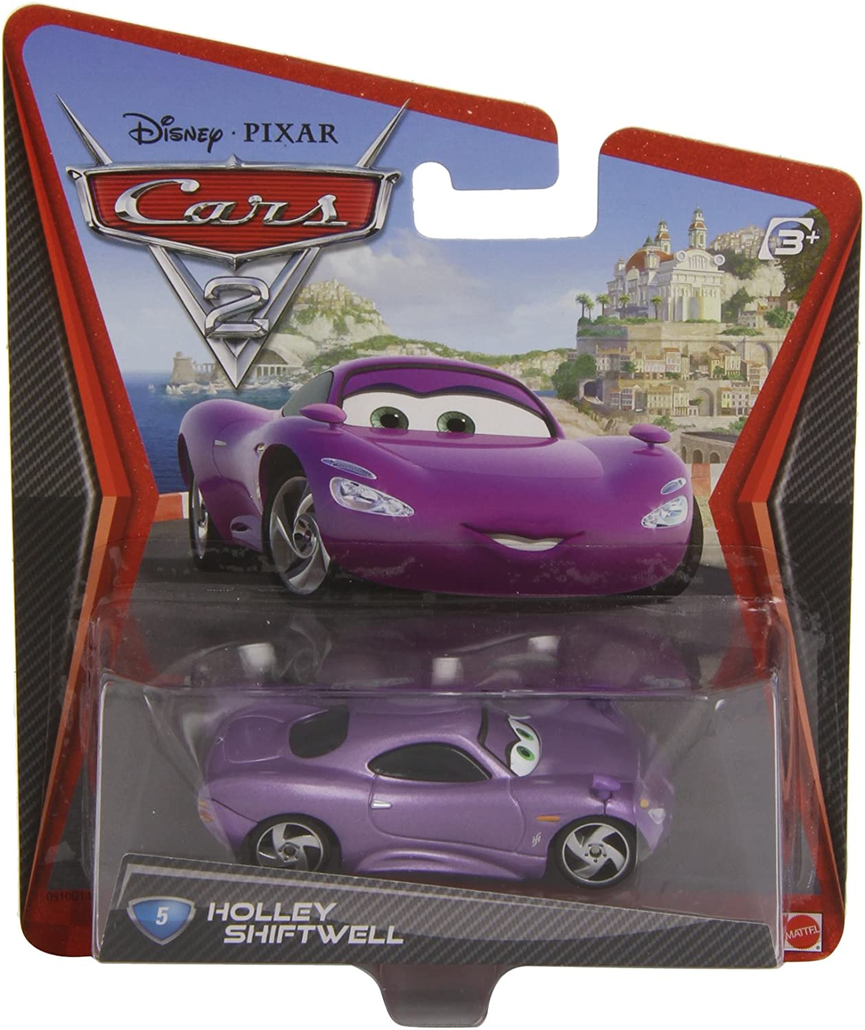 Amazon Com Disney Pixar Cars 2 Die Cast Holley Shiftwell 5 1 55 Scale Toys Games