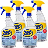 Zep Quick Clean Disinfectant 32 oz. Case of 4 Kills 99.9% of Bacteria in 5 Seconds (ZUQCD324)
