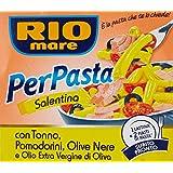 Rio mare - Salentina per Pasta, con Tonno, Pomodorini, Olive Nere - 160 g