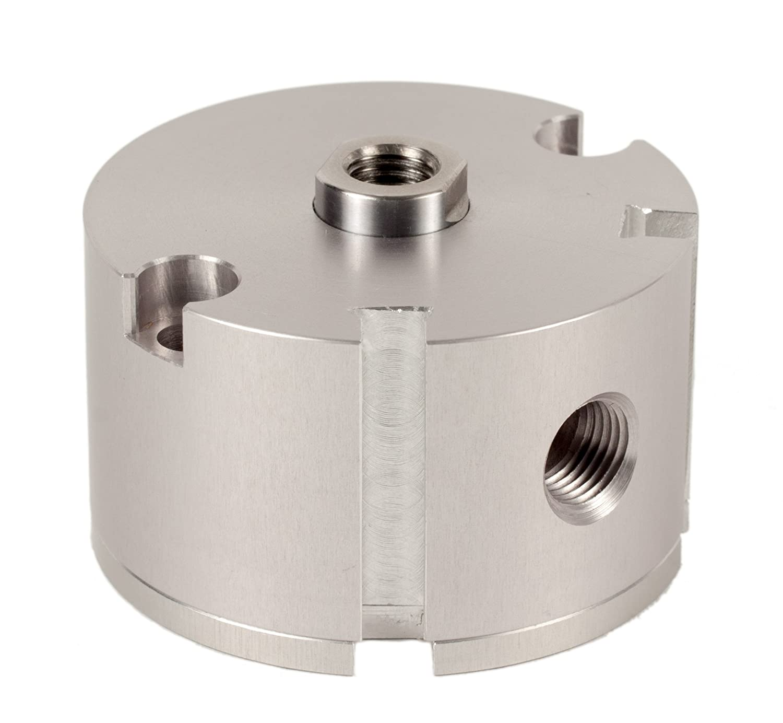 Fabco-Air D-121-X-E Original Pancake Cylinder, Double Acting, Maximum Pressure of 250 PSI, Switch Ready with Magnet, 1-1/8' Bore Diameter x 1/2' Stroke 1-1/8 Bore Diameter x 1/2 Stroke FAB   D-121-X-E