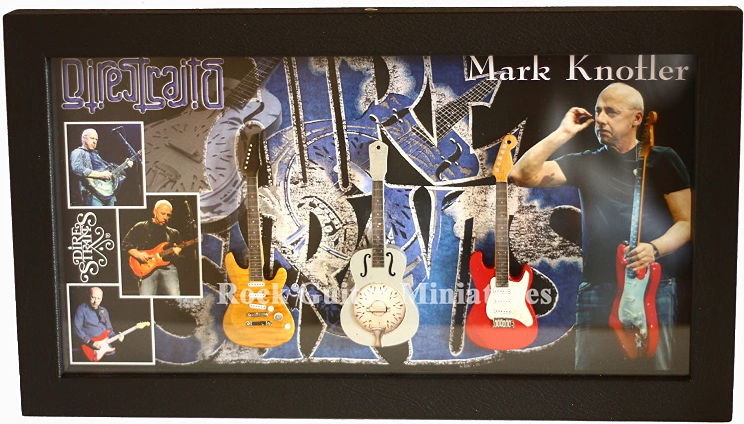 rgm8882 Mark Knopfler Dire Straits Miniature Guitar Collection ...