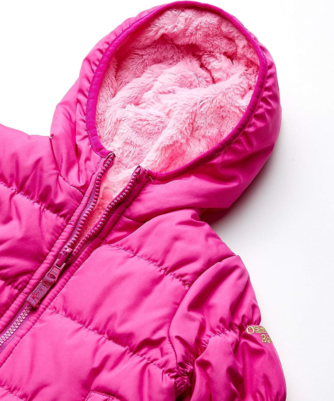 Osh Kosh Girls Toddler Reversible Puffer Jacket Coat