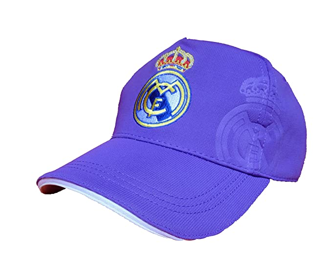 GORRA REAL MADRID MORADA: Amazon.es: Deportes y aire libre