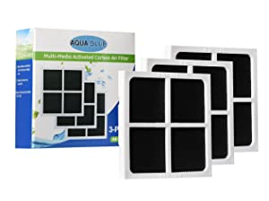 AQUABLUE LG LT120F Kenmore 469918 Compatible Refrigerator Air Filter (3 Pack)