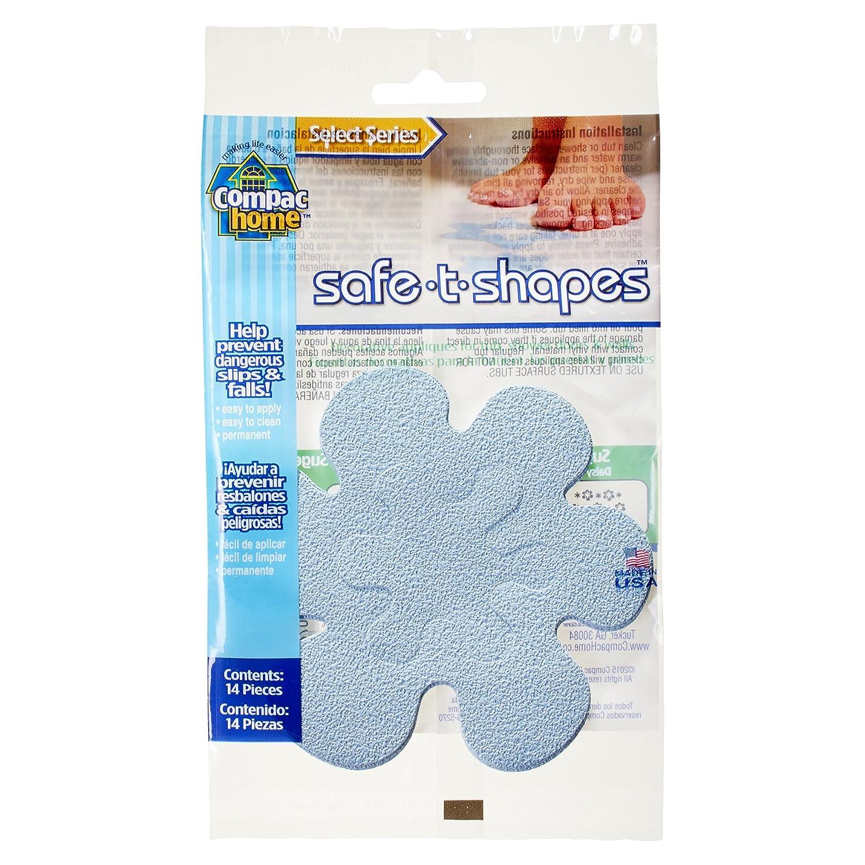 Compac Safe-T-Shapes Bathtub Appliques, White Daisy, 3 Count Compac Industries Inc. 11113-3WDS