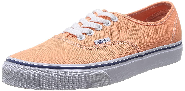 Vans Unisex-Erwachsene Authentic Low-Top  35 EU|Orange (Canteloupe/True Fri)