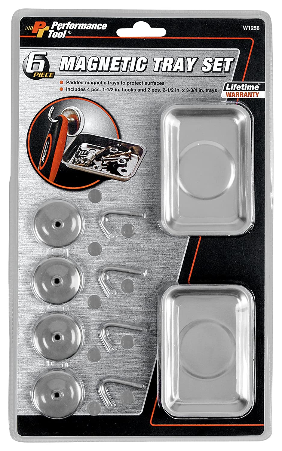 Performance Tool (W1256) 6-Piece Magnetic Set