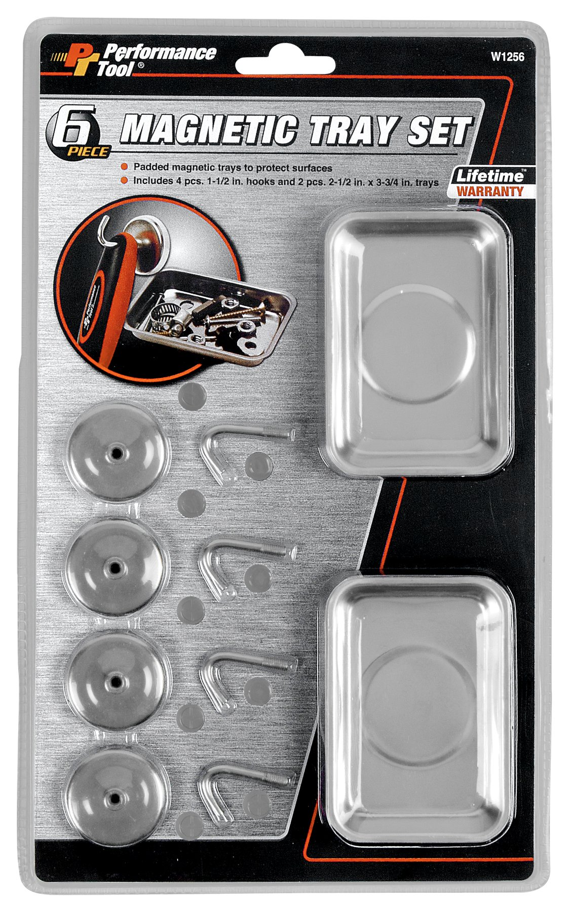 Performance Tool W1256 6-Piece Magnetic Set